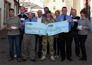 Tweeddale Rovers / Royal Marines Welfare Presentation