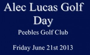Alec Lucas Golf Day – June 2013