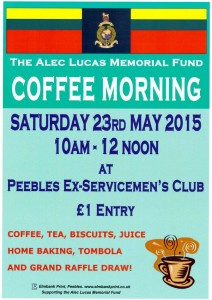 Coffee Morning – 23rd May 2015