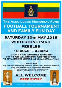Alec Lucas Memorial Football Tournament 2015