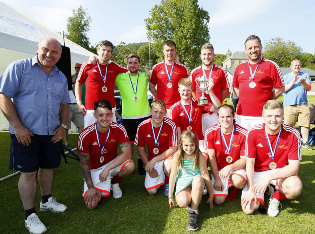 Borders Lions - the winners