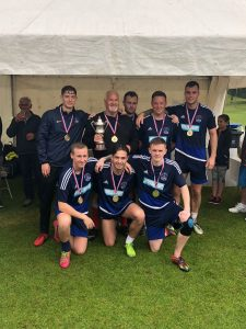 2018 Football Tournament win for Leithen Rovers